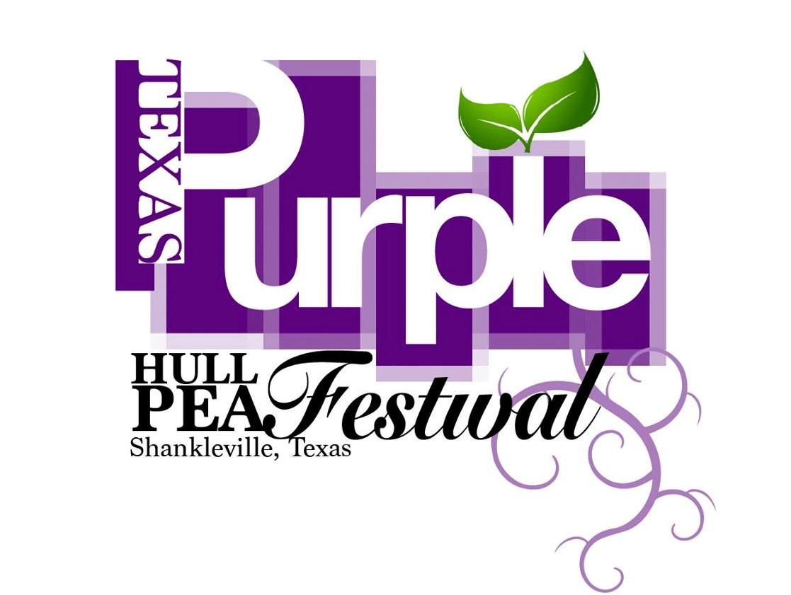 Texas Purple Hull Pea Festival logo