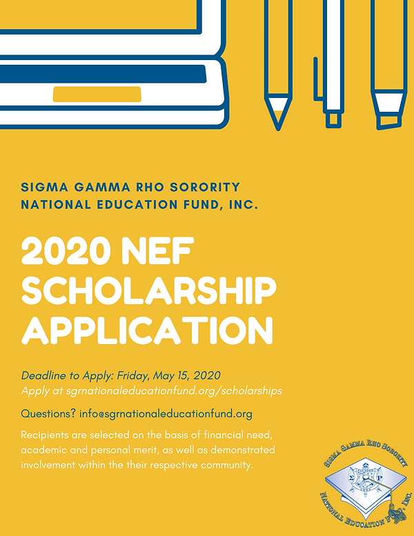 2020 NEF Scholarship Flyer.png