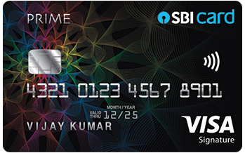 Circles ranks SBI Prime Credit Card as rank 5