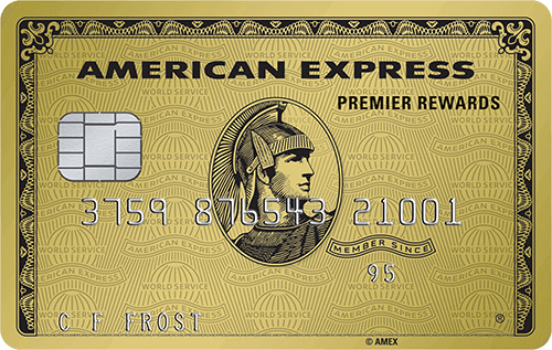 circles ranks American Express Gold as rank 8