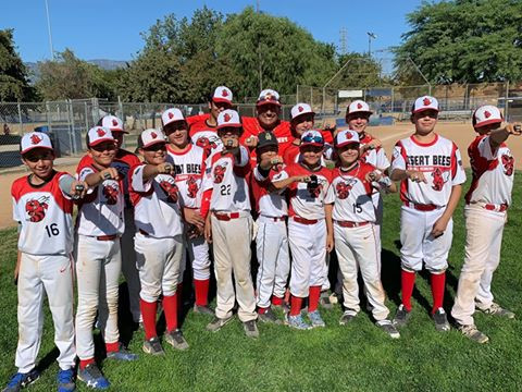 Indio Toys For Tots Tournament Davis Field Desert Bees Baseball