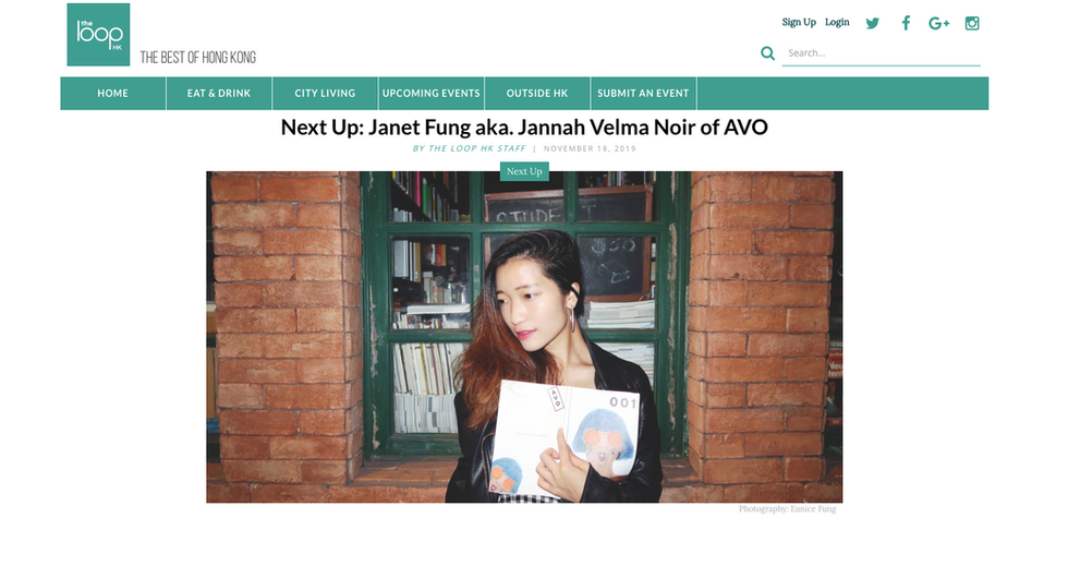 My Interview on The Loop HK for Next Up Series