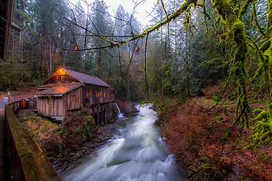 Grist Mill, Amboy Washington