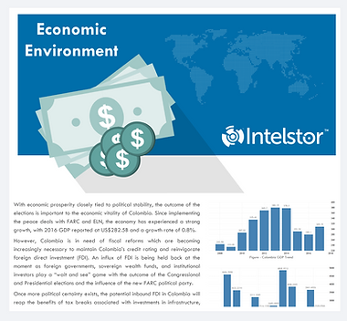 IntelStor™ Economic Environment