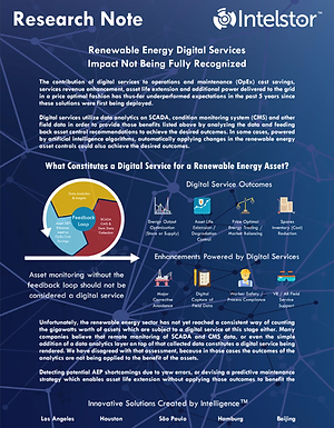 Renewable Energy Digital Services Impact