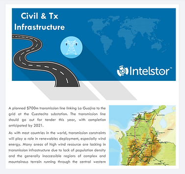 IntelStor™ Civil and Transmission Infrastructure