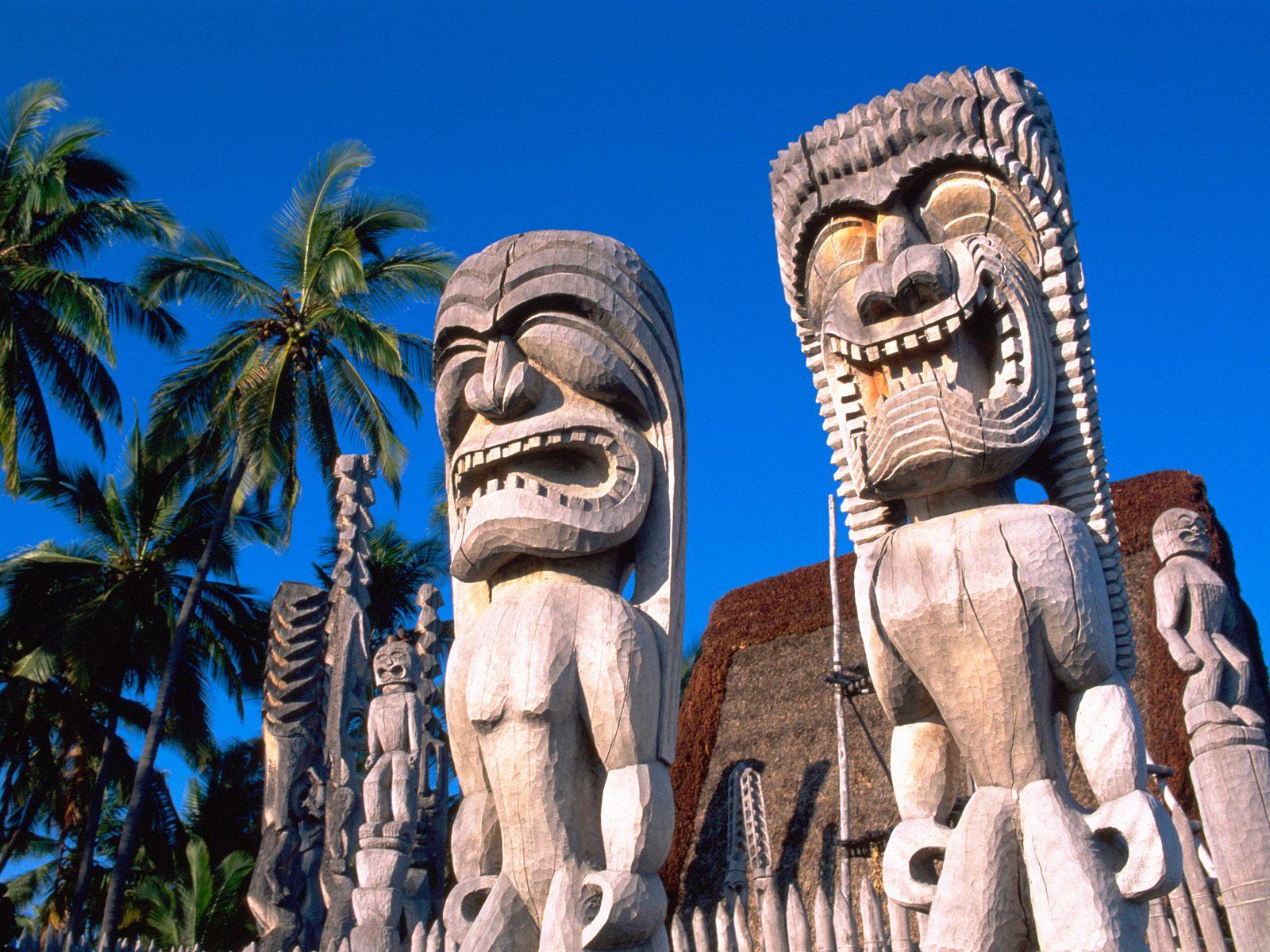 Pu`uhonua o Honaunau National Historical Park, Hawaii