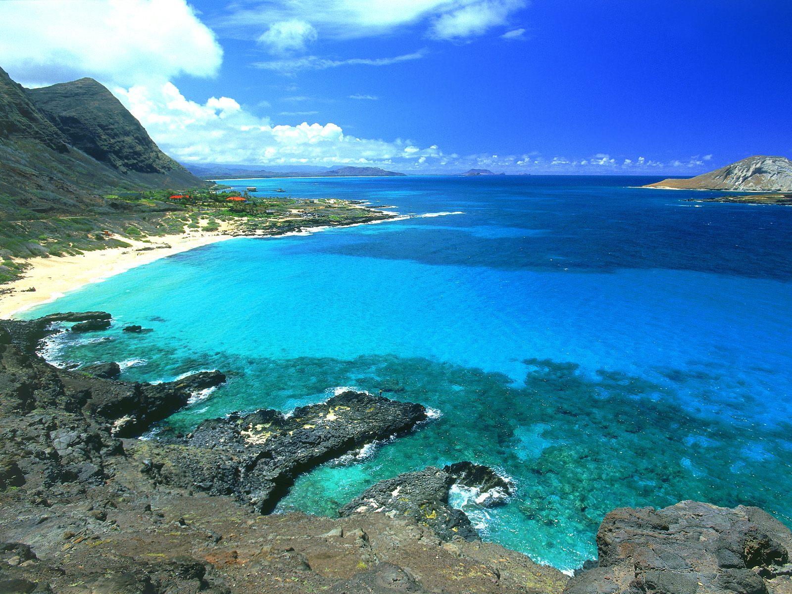 View from Makapuu, Oahu, Hawaii