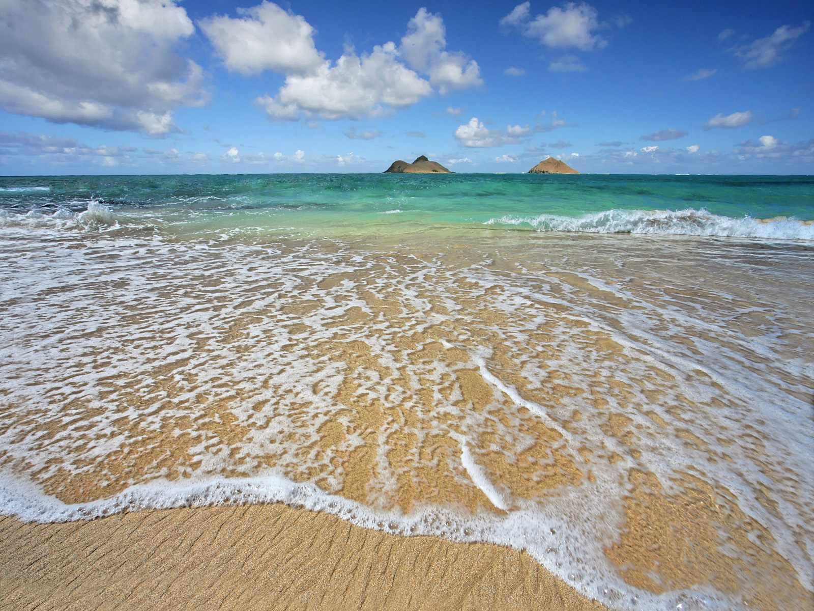 Lanikai Shoreline, Oahu, Hawaii