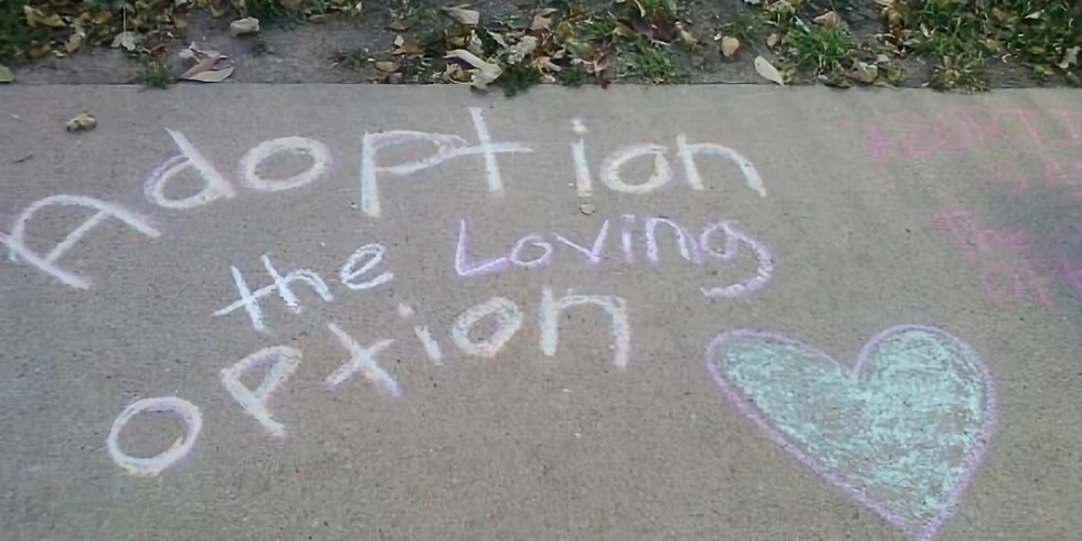 Pro Life Sidewalk Chalk Day