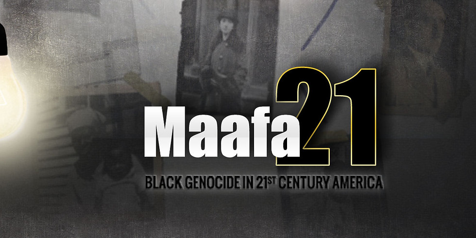 MAAFA 21 Documentary Movie Night