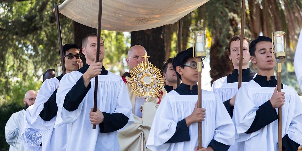 Cor Jesu Eucharistic Procession