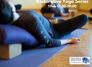 Restorative Yoga Series (Άνοιγμα της Σπονδυλικής Στήλης)