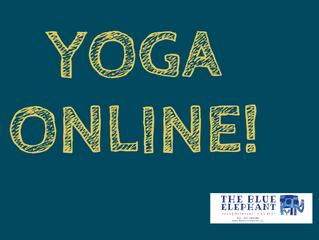 Online Μαθήματα Yoga 20 Απριλίου - 2 Μαΐου!