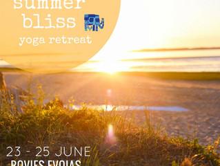 Summer Bliss Yoga Retreat