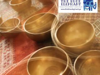 Ηχοθεραπεία με Θιβετιανά Bowls     Tibetan bowls sound therapy          Κυριακή 3 Δεκεμβρίου  18.00