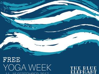Free Yoga Week !