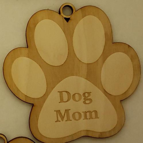 Paw Print Dog Mom