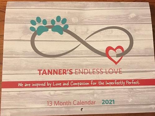 Tanner's Endless Love 13 Month Calendar