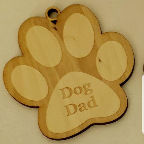 Paw Print Dog Dad