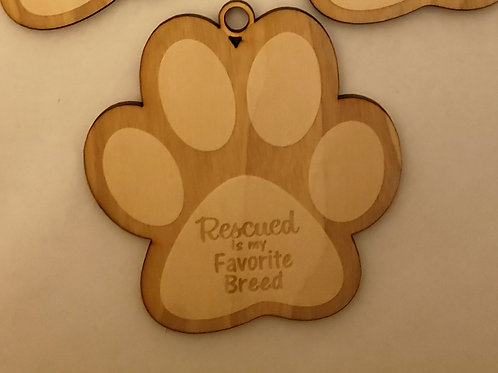 Paw Print Rescued is my Favorite Breed