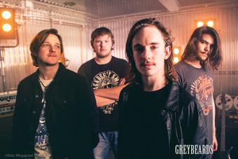 Schwedens toller Classic-Rock-Nachwuchs: Greybeards: das neue Album