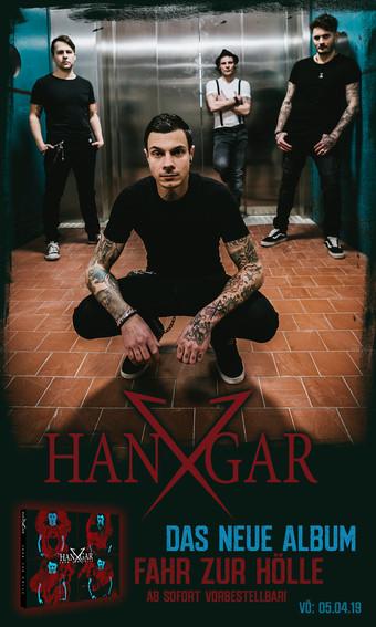 Hangar X kehren zurück: Album kommt im April: Video ist schon da