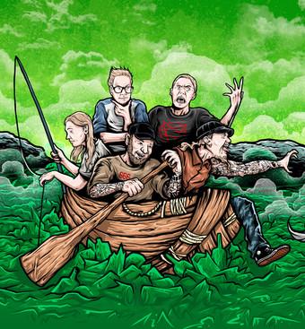 1a Punk´n´Roll aus Finnland: das neue Album der Graveyard Shifters