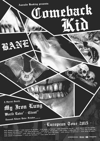 Comeback Kid: Tour mit Bane und Festivals!