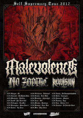 News: MALEVOLENCE European Tour