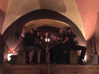 NEWS: Helsott on tour with I Am Morbid and Necrophagia: new EP