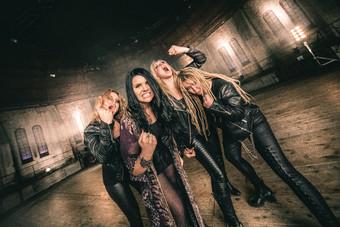 die Schwedinnen Hysterica mit ihrer neuen Scheibe: jetzt auf Attitude Recordings