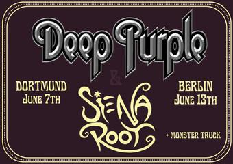 Siena Root als Support für Deep Purple bestätig