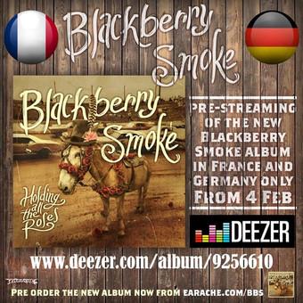 Neues Blackberry Smoke Album im exklusiven Stream bei deezer!