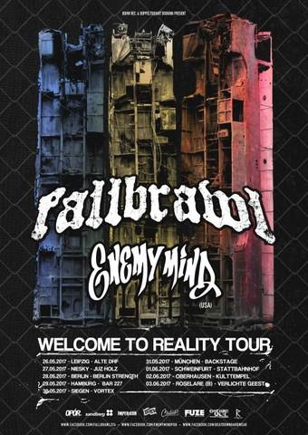 Fallbrawl auf Tour | Nasty kündigen neues Album an