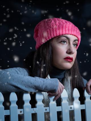 Studio Protrait - Winter Theme