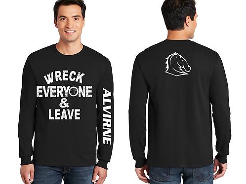 Alvirne High School Wreck Long Sleeve  T Shirt