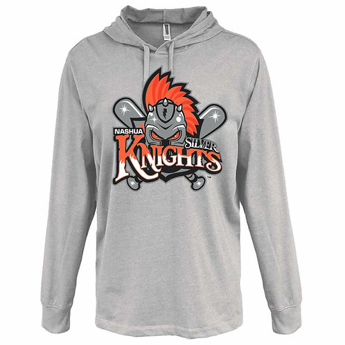 Nashua Silver Knights Heather Jersey Hoodie