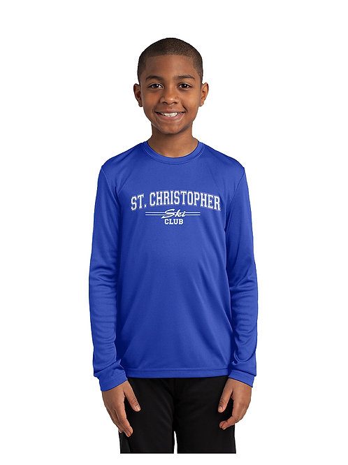 St. Chris Ski LS Performance Shirt