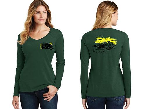 BSA Troop 19  Ladies Long Sleeve Cotton Shirt