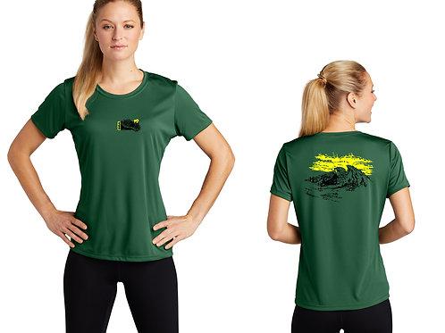 BSA Troop 19  Ladies Short Sleeve  Performance Shirt