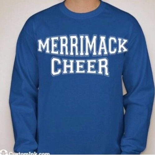 Merrimack Cheer Parent Long Sleeve T-Shirt