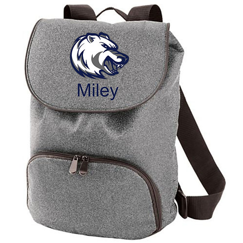 Hudson-Litchfield Bears Cheer Backpack