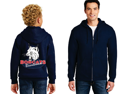 Bicentennial Full Zip Hooded Sweatshirt