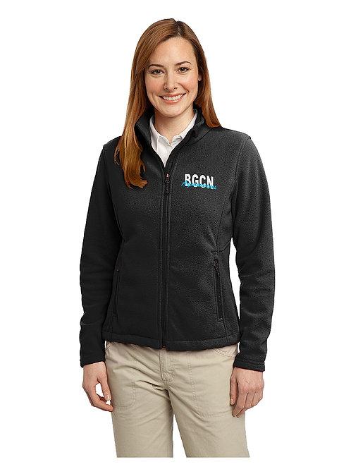 BGCN Aquamarines Fleece Jacket