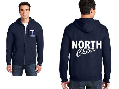 Nashua North Cheer Zip up