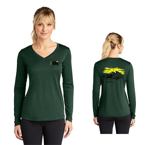 BSA Troop 19  Ladies Long Sleeve  Performance Shirt