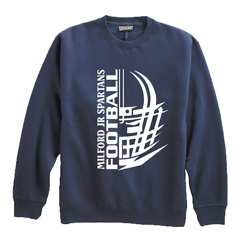 Milford Jr. Spartans Crewneck