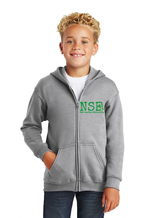 New Searles Full-Zip Hooded Sweatshirt
