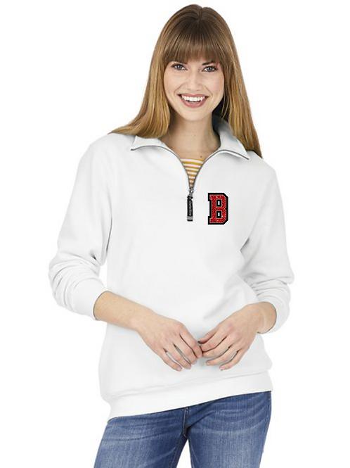 Bedford Cheer  1/4 Zip Crosswind Sweatshirt